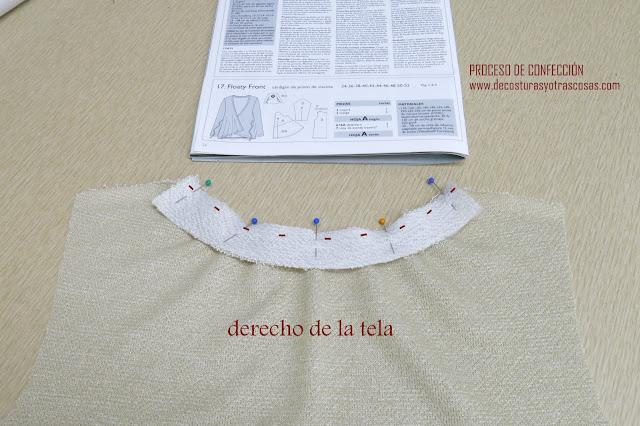 coser tejido de punto en casa