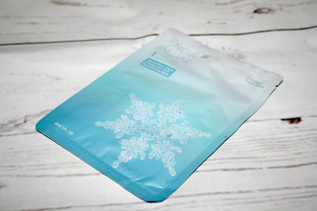 Bio-Cellulose Glacial Snow Algae & Hyaluronic Acid Facial Beauty Mask