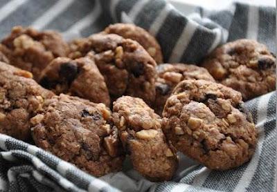 Resepi Biskut Oat Crunchy