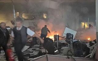 Imagens das explosões no aeroporto de Istambul; veja vídeo