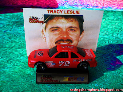 Tracy Leslie #72 Racing Champions 1/64 NASCAR diecast blog BGN