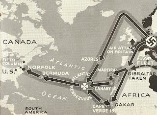 Plan de Hitler para atacar Estados Unidos en el Atlántico