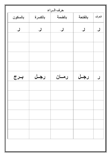 أسس طفلك قبل الدراسة في العربي وعلمه القراءة قبل دخول المدرسه حصري كتاب مهم لكل ام
