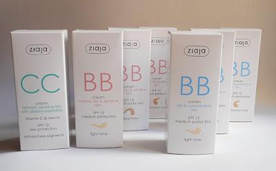 BB Creams y CC Cream de Ziaja: Un Poco de Cada