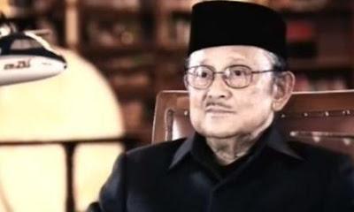 Nasehat B.J Habibie buat Para Blogger Indonesia
