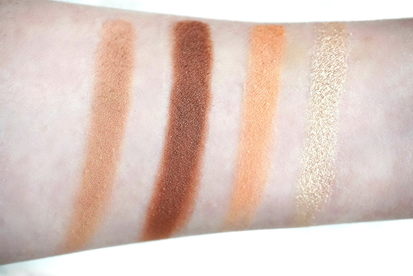 Colourpop Peachy Keen Eyeshadow Swatches