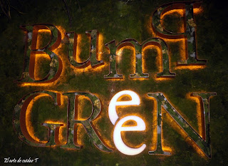 Cartel vegetal de Bump Green
