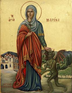 Η αγία Μαρίνα [17 Ιουλίου]