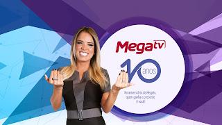 Promoção Mega TV 10 anos