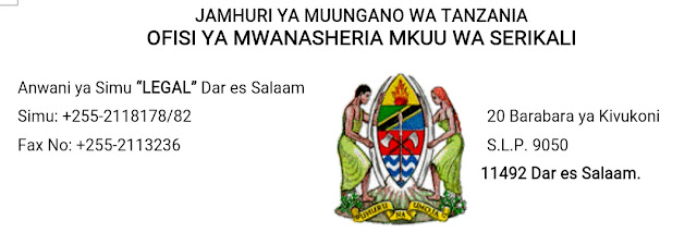Image result for ofisi ya mwanasheria mkuu