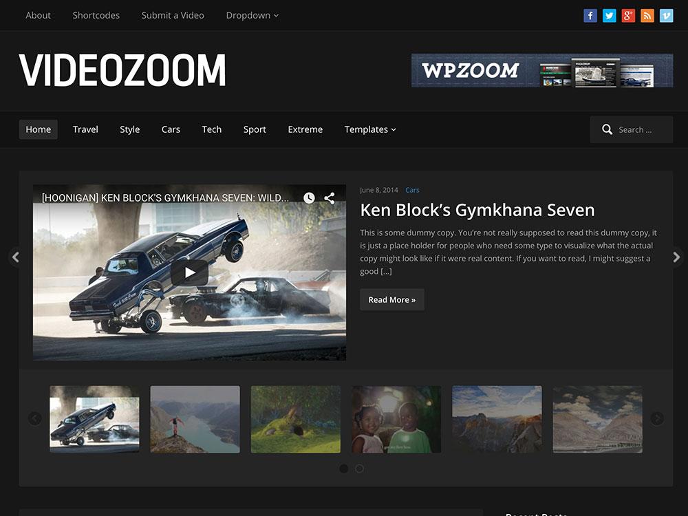 Free Video Blogger Templates