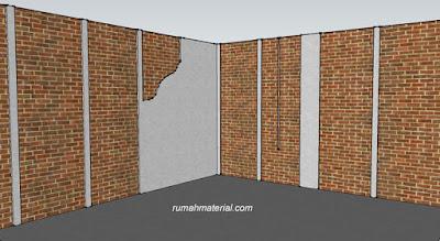 Pekerjaan Plesteran Dinding