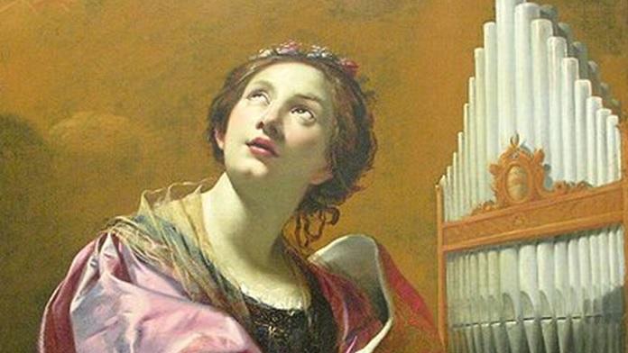 Santa Cecilia martire patrona dei musicisti