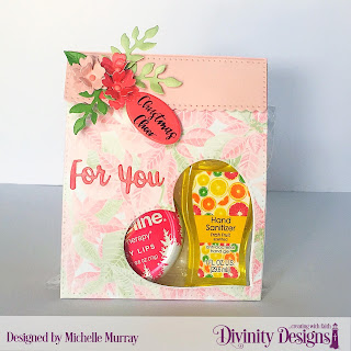 Divinity Designs Stamp Set: Festive Favors Tag Sentiments; Custom Dies: Festive Favors; Paper Collection: Christmas 2018