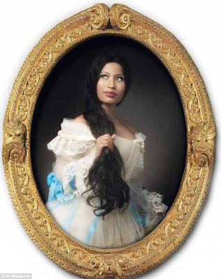 Nicki Minaj Looking Completely Different As She Covers W.Magazine 3