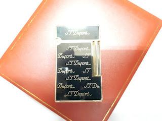 Korek Api Mewah S.T. Memorial Dupont Bright Sound T946 New In Luxury Box