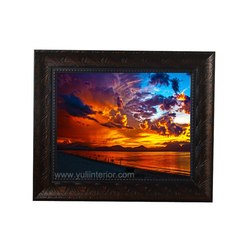 Golden Sunset Wall Frame-Large, Nigeria