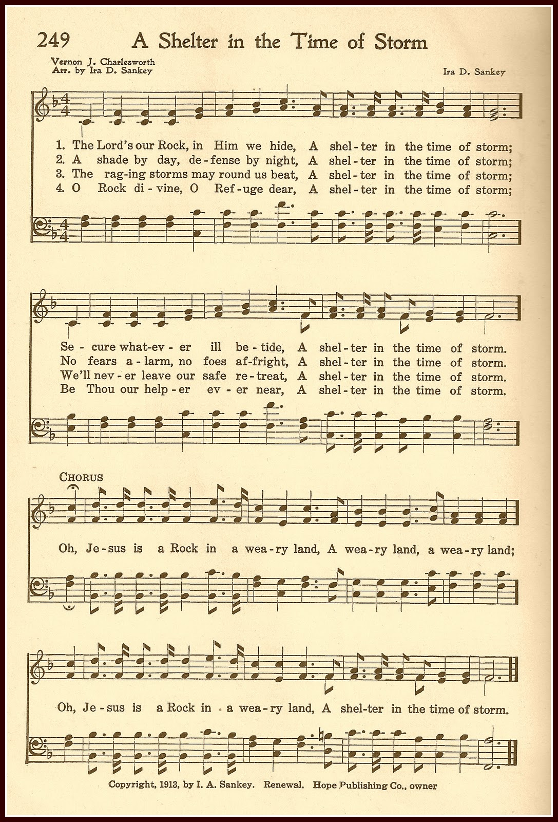 Massif image with regard to printable hymns