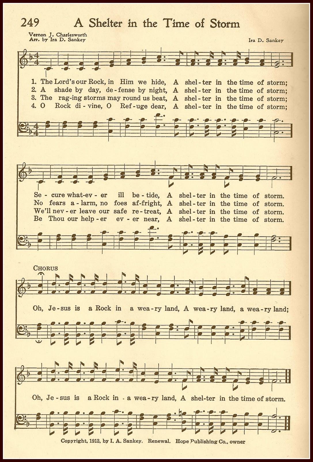 Enterprising image inside printable hymns