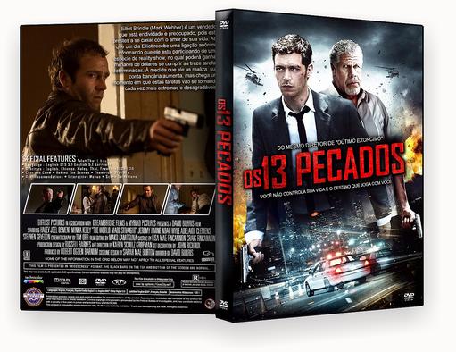 CAPA DVD – Os 13 Pecados Dublado – ISO