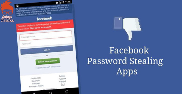 Facebook's Password Stealing Apps Industrial Plant Life On Android Play Shop !