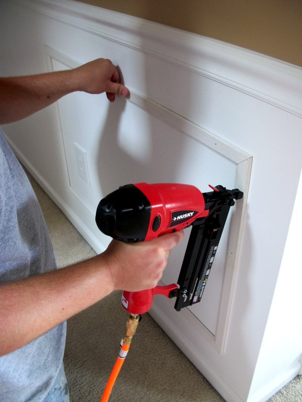 Katie J Gibson Wainscoting Tutorial