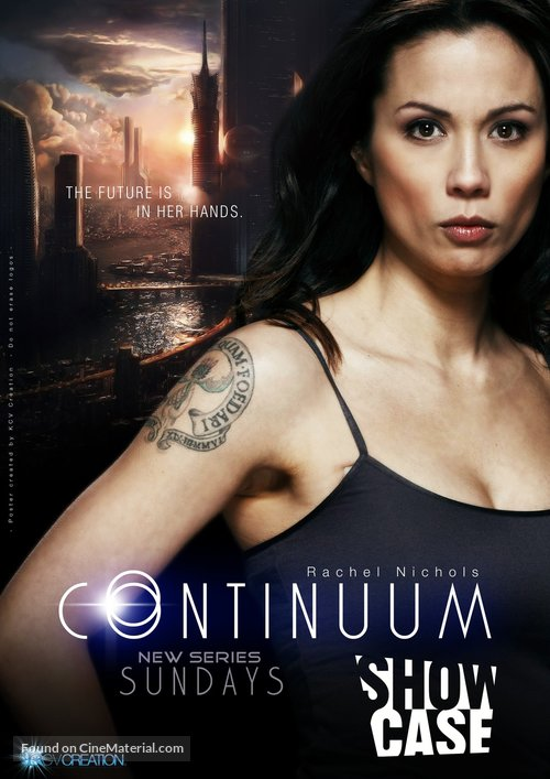 Continuum Temporada 3 audio español