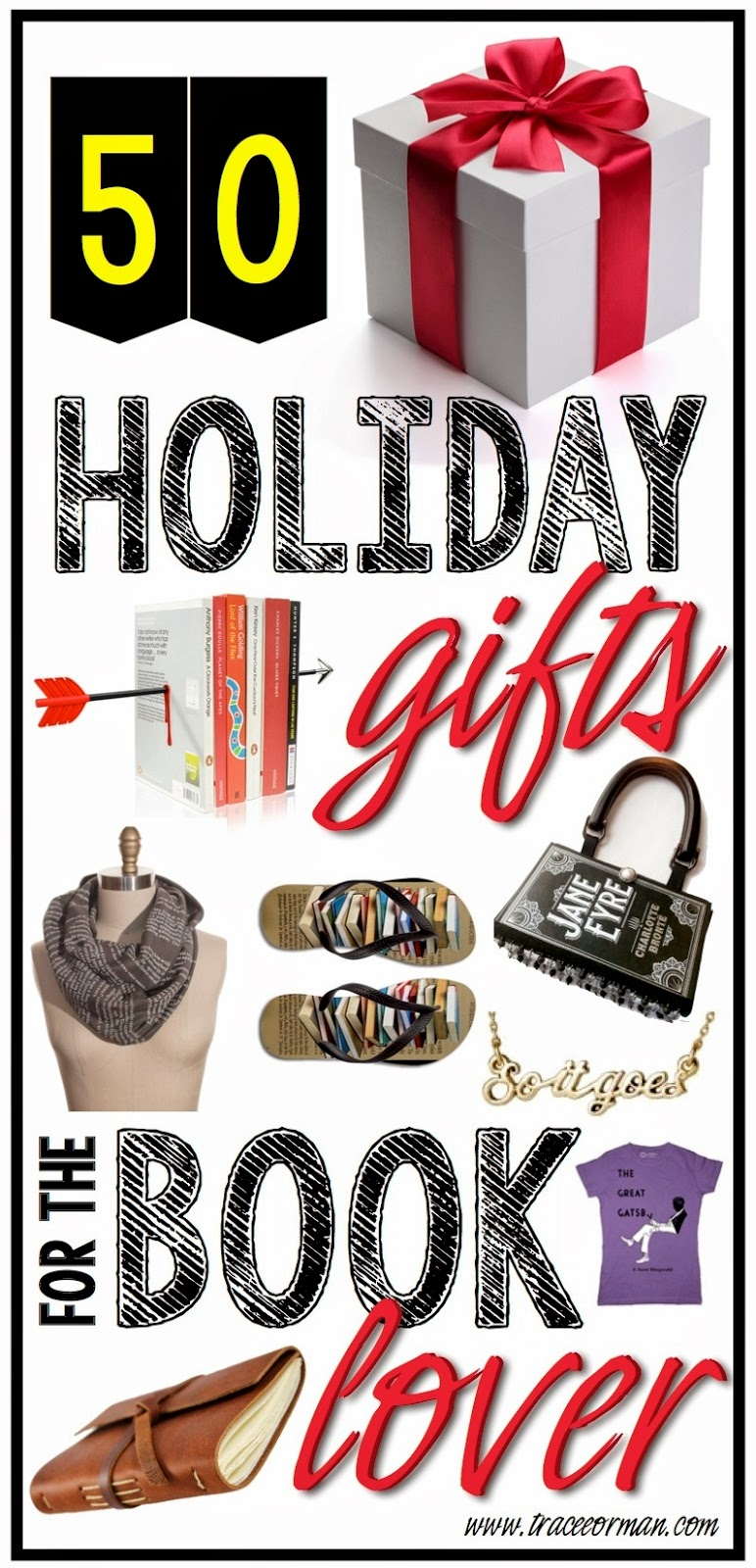 50+ Holiday Gift Ideas for the Book Lover Bibliophile