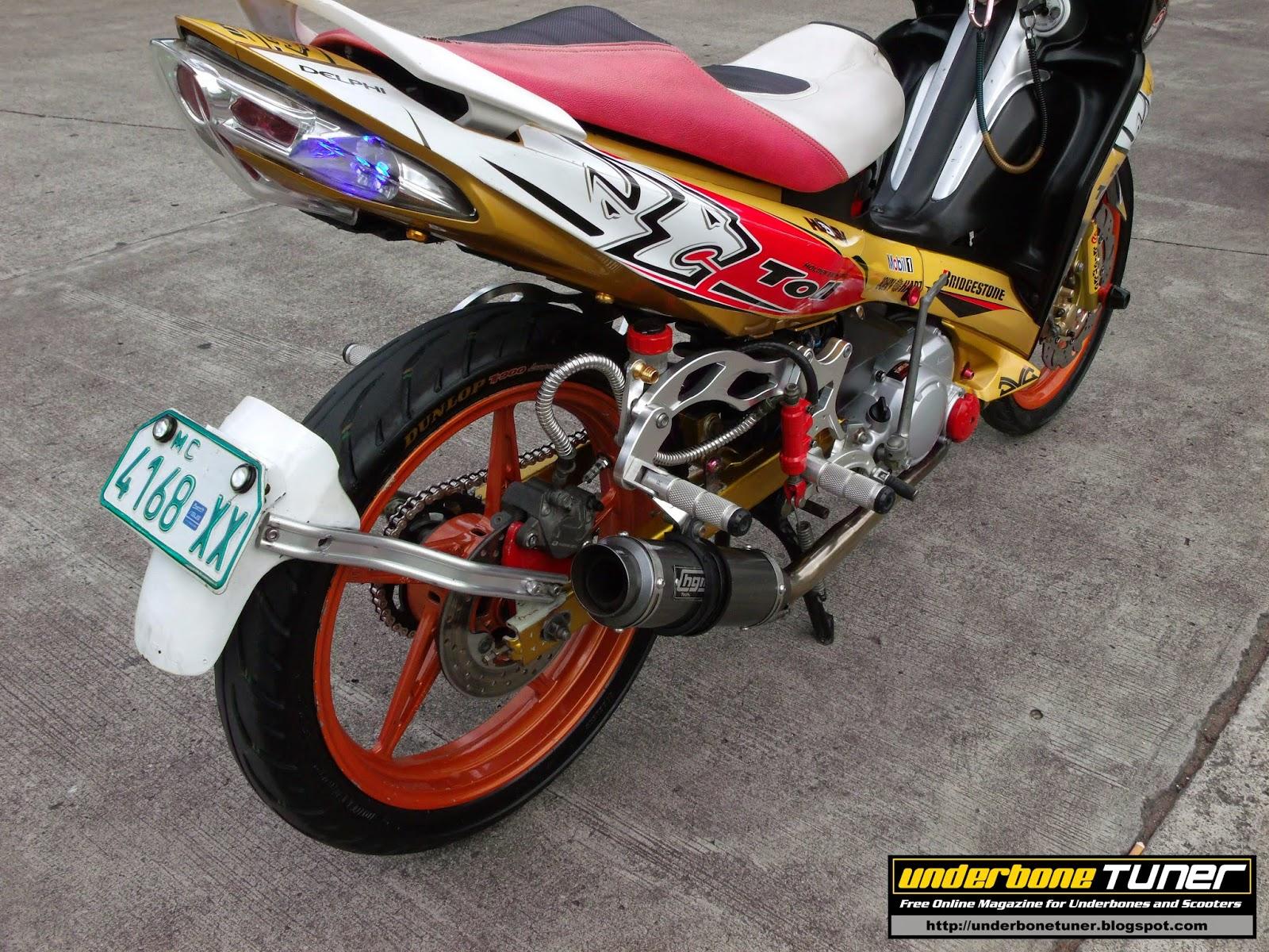 Underbone Tuner: Modified Bikes: MotoGp Inspired Yamaha