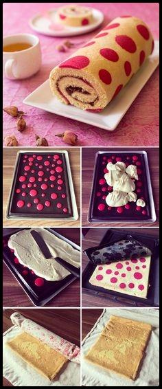 Roll cake-Rocambole