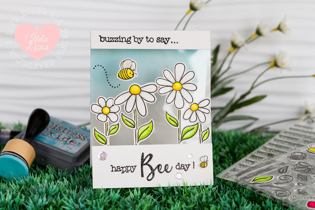 Happy Bee Day Card ft. Honey Bee Stamps