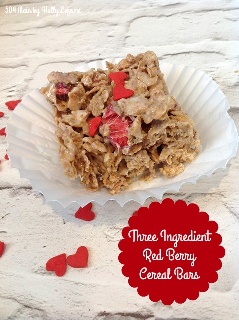 504 main by holly lefevre 3 ingredient red berry cereal bars just ccuart Choice Image