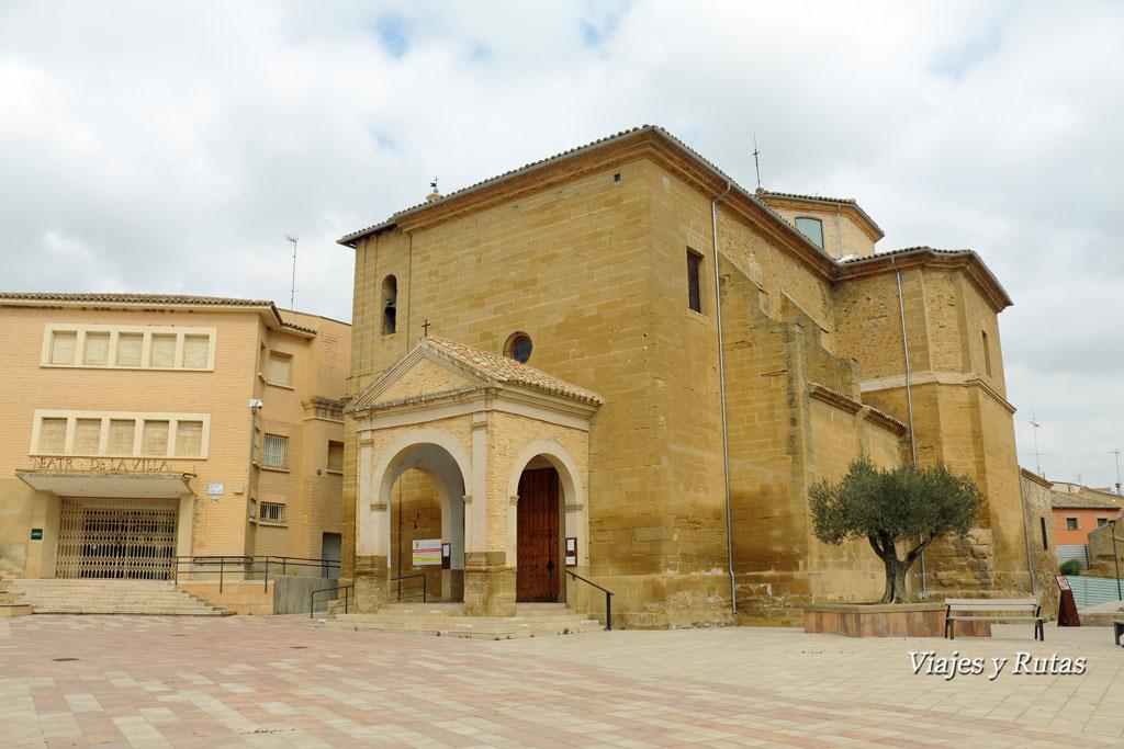 Iglesia de Santa María de la Corona, Ejea de los Caballeros, Zaragoza