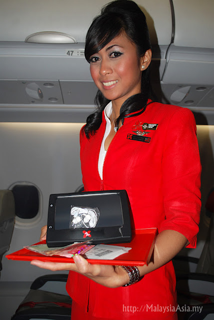 On Board Entertainment AirAsiaX