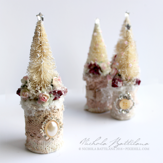 Bottle Brush Trees and the Power of Glitter - Nichola Battilana