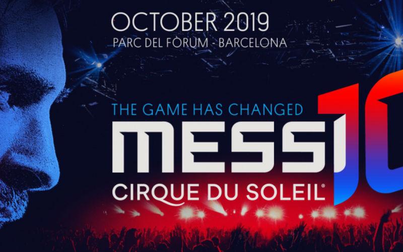 Messi Cirque Poster