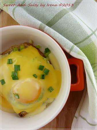 Zapečen praziluk sa jajima