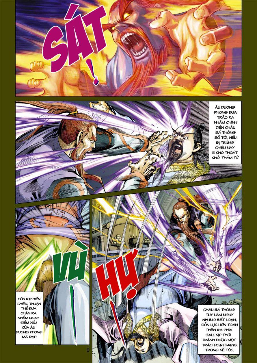 Anh Hùng Xạ Điêu anh hùng xạ đêu chap 41 trang 8