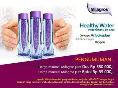 Heboh Manfaat Air Milagros Untuk Kesehatan