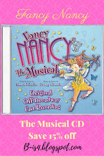 Fancy Nancy Musical CD