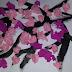 Branche de cerisier en fleur de soie