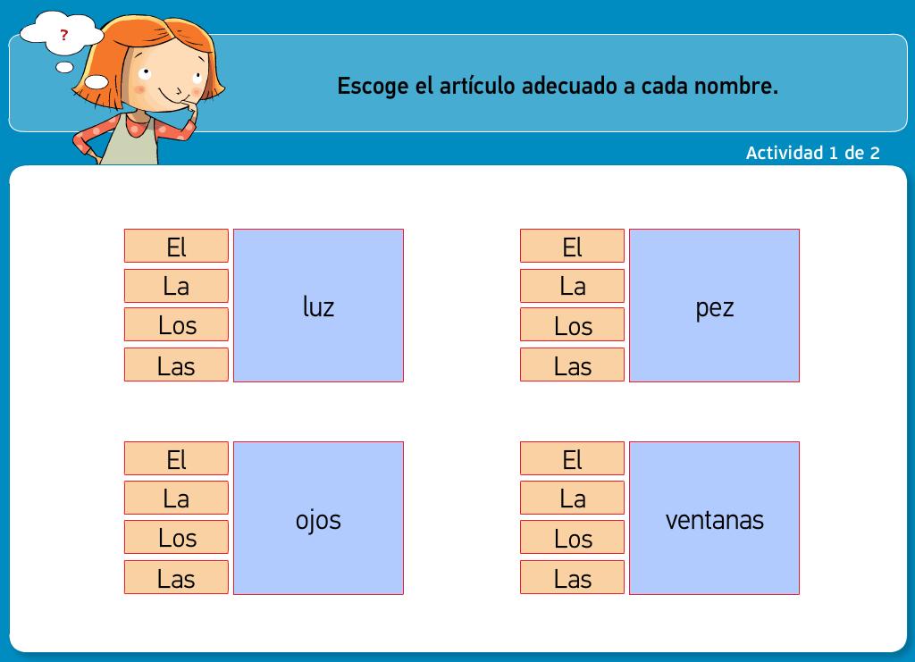 http://www.primerodecarlos.com/TERCERO_PRIMARIA/archivos/actividades_tilde_tercero/5/el_articulo.swf