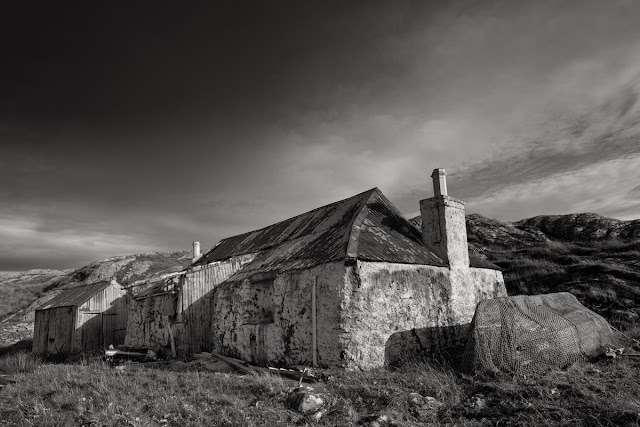 Abandoned croft, Isle of harris
