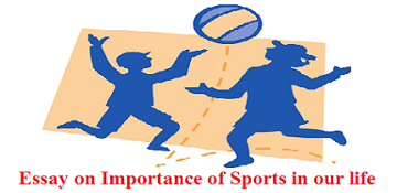 search speech importance of sports and games The curriculum should include the sports, games and physical health education for all-round development of the students in schools, sufficient amount of time should be devoted for sports and physical training.