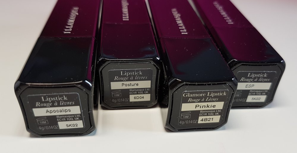 Illamasqua-lipsticks-Apocalips-Posture-Pinkie-ESP-review // www.xloveleahx.co.uk