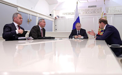 Vladimir Putin videoconference MIG.