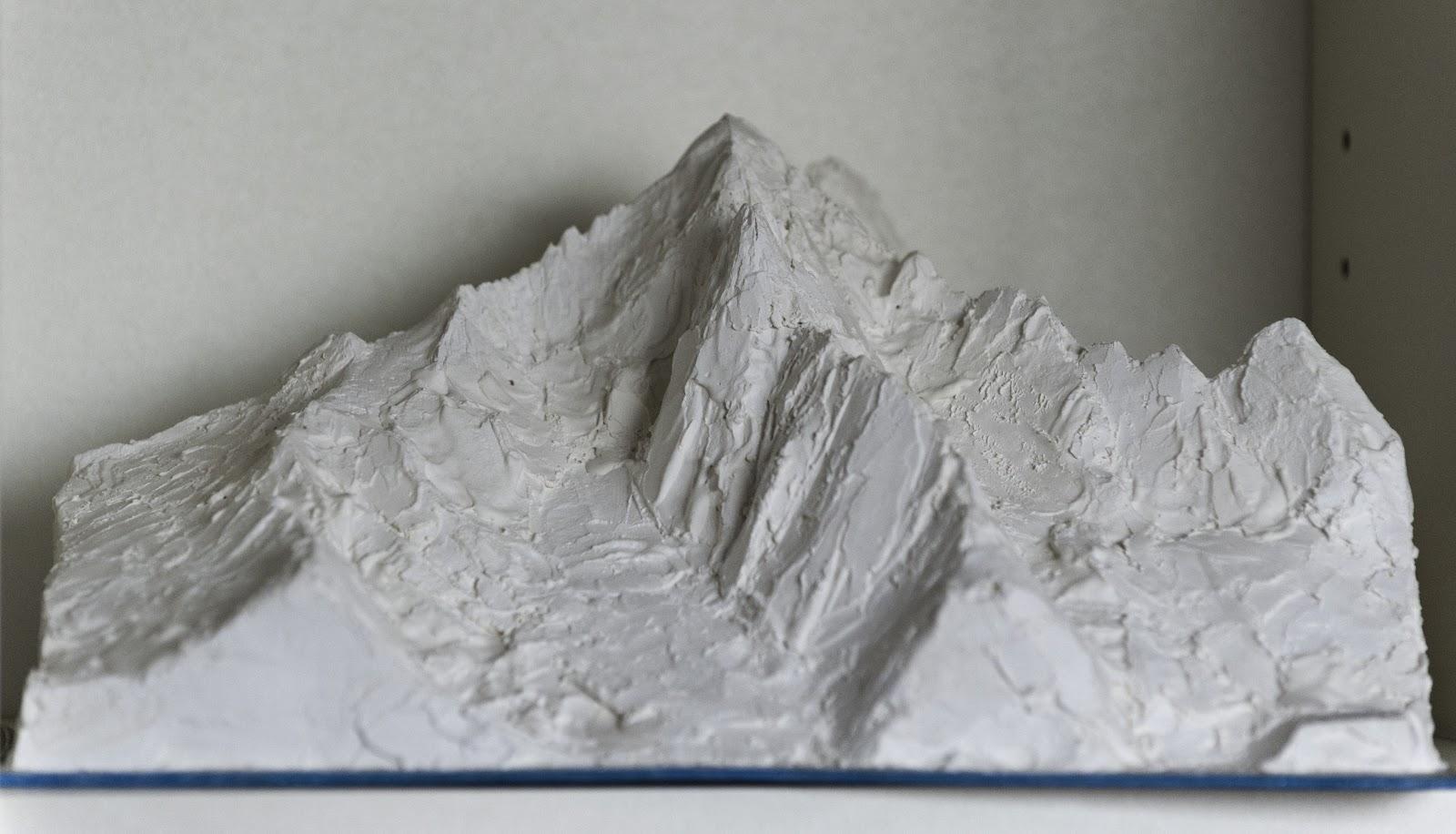 maquettes de montagnes aiguille verte mod lisation du. Black Bedroom Furniture Sets. Home Design Ideas