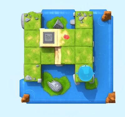 """""""Swift Playgrounds"""" programėlės vaizdo iPad ekrane fragmentas"""