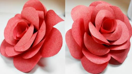 How to make realistic paper rose tech2craft how to make realistic paper rose mightylinksfo