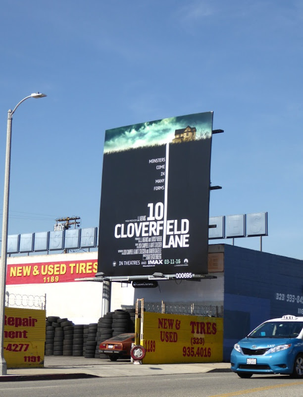 10 Cloverfield Lane movie billboard